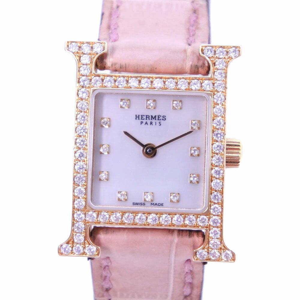 腕時計, レディース腕時計 HERMES H 12P HH1.171 K18 A