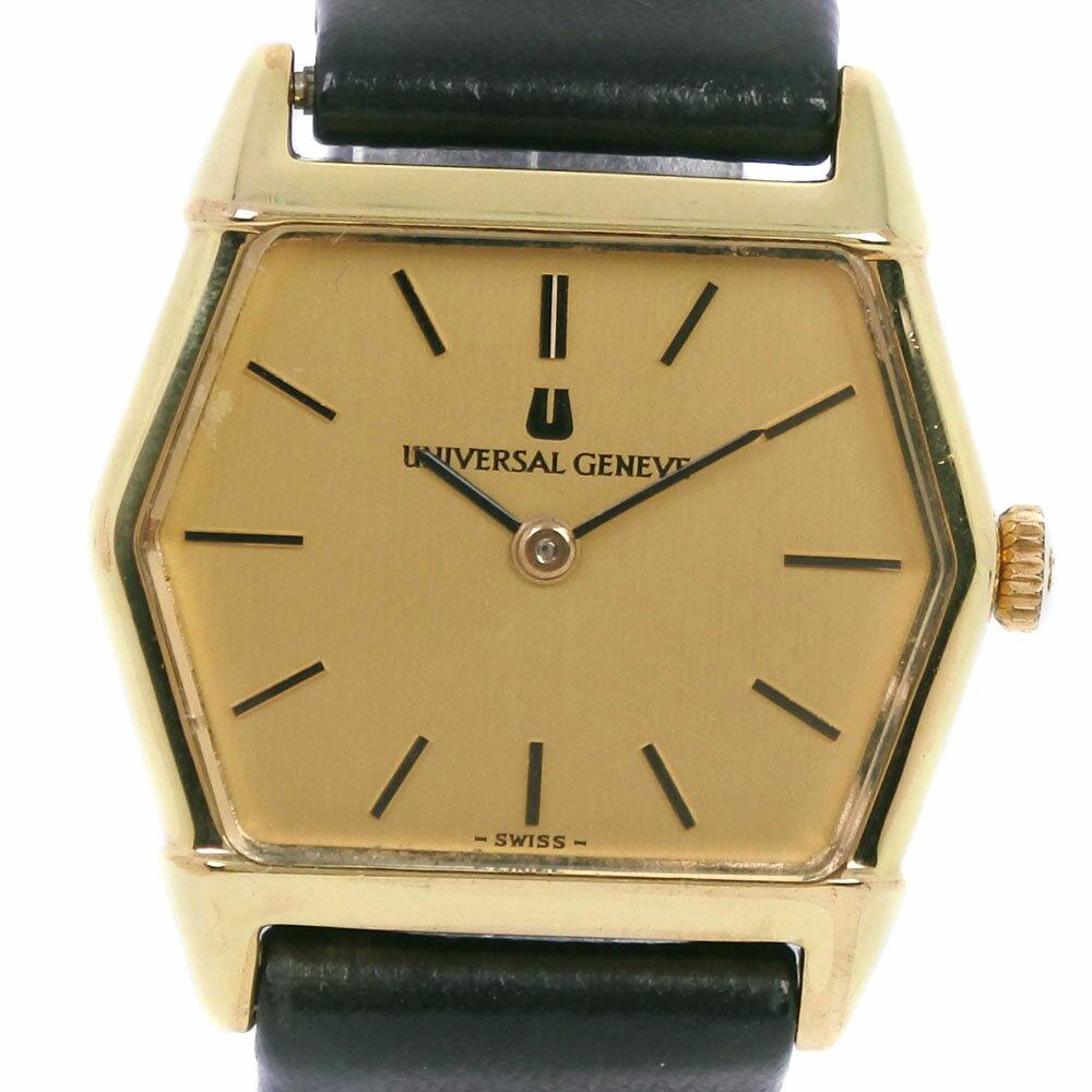 腕時計, レディース腕時計 Universal Genve 542681 A-