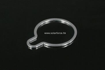 ソーラーフォース ランヤードリング L2-LR1 ステンレス製 Solarforce 懐中電灯 / フラッシュライト用 シュアファイア / ウルトラファイアの一部ライトにも使用可能 送料無料