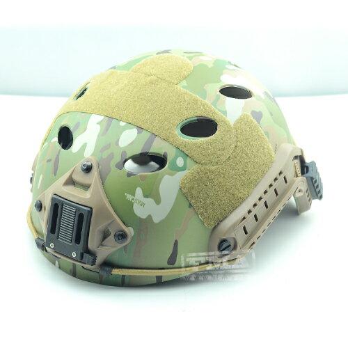 FMA製 Ops-Coreタイプ Fast Carbonヘルメット MC L/XL