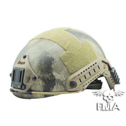 FMA製 Ops-Core Fast Ballisticタイプ ヘルメット A-TACS L/XL