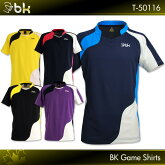 blackknight:ブラックナイトゲームシャツT-50116バドミントンウェアゲームウェアUNISEX:男女兼用日本バドミントン協会審査合格品