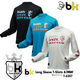 ブラックナイト:blackknightbkロング67AWT-6207UNISEX:男女兼用ロングTシャツ・長袖TシャツバドミントンTシャツ