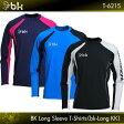 ブラックナイト:black knight bkロングKK T-6215 UNISEX:男女兼用 ロングTシャツ・長袖Tシャツ バドミントン Tシャツ