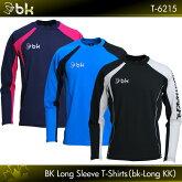 ブラックナイト:blackknightbkロングKKT-6215UNISEX:男女兼用ロングTシャツ・長袖TシャツバドミントンTシャツ