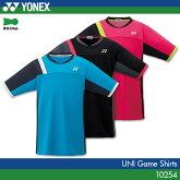 ヨネックス:YONEXゲームシャツ10254UNISEX:男女兼用ゲームウェアゲームシャツバドミントンテニス日本バドミントン協会審査合格品日本ソフトテニス連盟準拠品