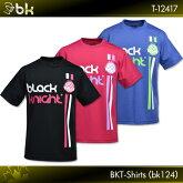 blackknight:ブラックナイトBKTシャツ(bk124)T-12417バドミントンTシャツネコポス送料無料!!(日時指定・代引不可)2017年春夏モデル