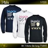 ブラックナイト:blackknightBKTシャツ(bkロング71AW)T-7221ロングスリーブTシャツバドミントンテニススカッシュバドミントンウェアテニスウェアTシャツ長袖