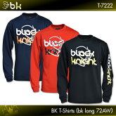 ブラックナイト:blackknightBKTシャツ(bkロング72AW)T-7222ロングスリーブTシャツバドミントンテニススカッシュバドミントンウェアテニスウェアTシャツ長袖
