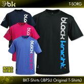 blackknight:ブラックナイト専門店会限定オリジナルTシャツT-SORGUNISEX:男女兼用バドミントンTシャツTシャツバドミントンテニスバドミントンウェアテニスウェアスカッシュ