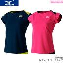 ミズノ MIZUNO ゲームシャツ 72MA7203 レディース 女性用 ゲームウェア ゲームシャツ バドミントンウェア・テニスウェア 日本バドミントン協会審査合格品 セール品につき、キャンセル・返品・交換はできません。