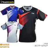 blackknightブラックナイトゲームウェアT-9530ユニ男女兼用バドミントンテニススカッシュゲームシャツユニフォーム日本バドミントン協会審査合格品