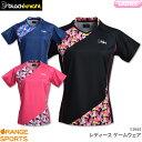 [リーニン テニス・バドミントン ウェア(レディース)]中国ナショナルチームゲームシャツ/レディース(AAYP052)