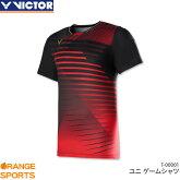 ビクターVICTORゲームシャツT-00001ユニ男女兼用ゲームウェアユニフォームバドミントン日本バドミントン協会審査合格品