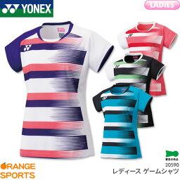 ヨネックス レディース ゲームシャツ 20590 ゲームウェア ユニフォーム バドミントン テニス 日本バドミントン協会審査合格品