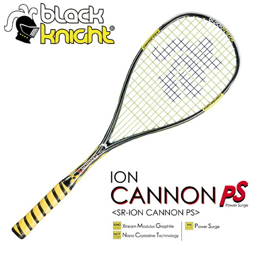 SR-ION CANNON PSblack knight:ブラックナイトスカッシュラケットION CANNON PS:...