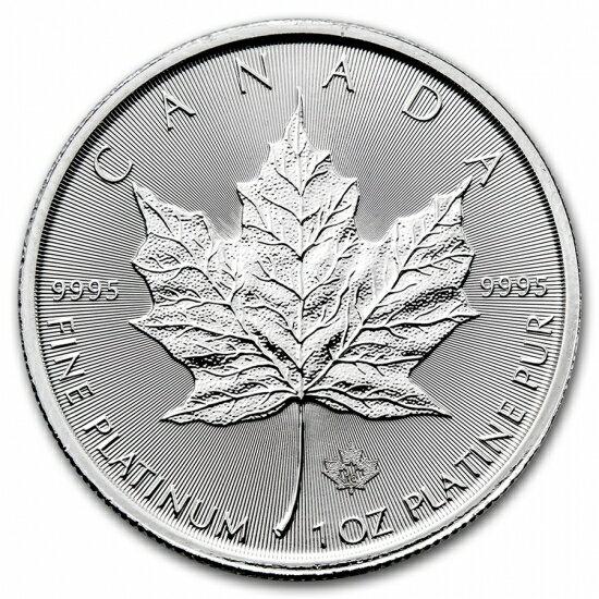 新品未使用 2018 カナダ メイプル《プラチナ》1オンス10枚セット(造幣局ケース&30mmクリアーケース)付き