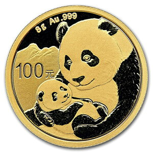 2019 Chinese panda gold coin 8g 100 yuan vacuum packed new unused