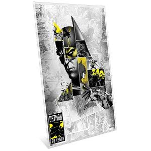 2019纽埃蝙蝠侠80周年钞票型银币5克, 配亚克力盒新未使用