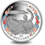 2019 ヴァージン諸島 2020年東京夏季オリンピック:スケートボード 銀貨 彩色プルーフ 箱付き 新品未使用