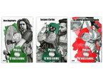 2019 フランス コインと歴史シリーズ5:ウェルキンゲトリクス、ジャック・カルティエ、民衆を導く自由の女神 10ユーロ銀貨【3枚】セット カード型ケース付き 新品未使用