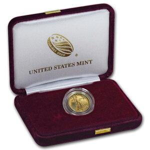 Золотая монета американского орла 2019 года 1/10 унции с защитной коробкой и прозрачным футляром Новое неиспользованное
