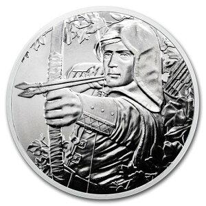 2019 オーストリア ウィーン造幣局825周年記念:ロビン・フッド 銀貨 1オンス クリアケース付き 新品未使用