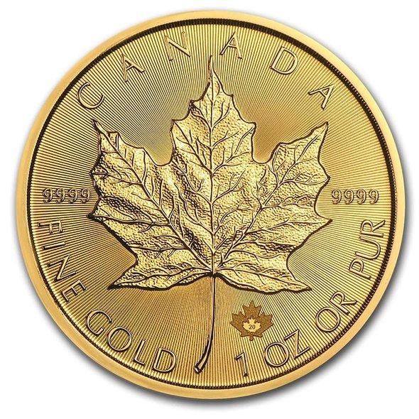 2020 カナダ メイプルリーフ金貨 1オンス 【10枚】セット (30mmクリアケース付き) 新品未使用