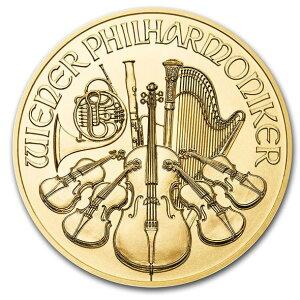 2020 オーストリア ウィーン金貨 1/25オンス 新品未使用