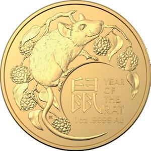 2020 Australian Zodiac: Kindermünze RAM 1 Unze [10 Stück Set] 39 mm mit klarem Gehäuse Neu unbenutzt