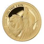 2020セントヘレナウナとライオン2ポンド金貨1/4オンスプルーフ箱とクリアケース付き新品未使用