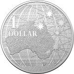 2020オーストラリア南十字星の下1ドル銀貨1オンス40mmクリアケース付き新品未使用