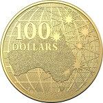 2020オーストラリア南十字星の下100ドル金貨1オンス39mmクリアケース付き新品未使用