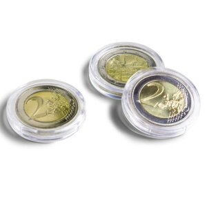 Maple Gold Coin 4/1 oz 10 Eurocent Clear Case [10 Blatt] Set 20 mm [ULTRA PLAMIUM] Keine Ecke (Leuchtturm-Münzkapsel)