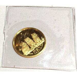 2006 Золотая монета кошки острова Мэн 1/25 унции короткошерстная кошка с прозрачным чехлом