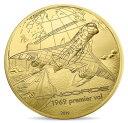 2019 フランス 飛行と歴史:コンコルド 金貨 5オンス プルーフ 箱とクリアケース付き 新品未使用