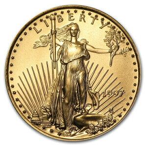 1997 American Eagle Goldmünze 22 mm mit klarem Gehäuse