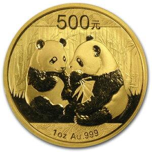 Новая Неиспользованная Китайская Панда Золотая Монета 2009 года 1 унция