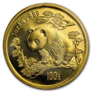 Новая Неиспользованная 1997 Китайская Панда Монета 1 унция Маленькая Дата