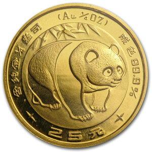Совершенно новая Неиспользованная 1983 Китайская Золотая Монета Панды 1/4 унции Вакуумной Упаковке