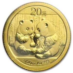 Новая неиспользованная китайская золотая монета 2009 года 1/20 унции 10 юаней в вакуумной упаковке