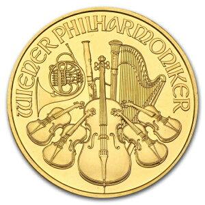 新品未使用 2001 オーストリア ウィーン金貨 1オンス(37mmクリアーケース付き)