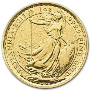 新品未使用2015年製 ブリタニア金貨 1オンス10枚セット 33mmクリアーケース付き