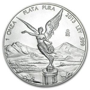 2013墨西哥Libertad银币1盎司[附40毫米透明表壳]
