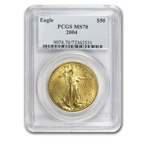 [2004] 1 Unze Eagle Gold Coin MS-70 PCGS