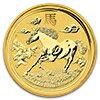 ホース金貨 10 オンス 2014年製 オーストラリアパース造幣局発行 クリアーケース付き