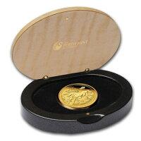 ホース金貨プルーフ1オンス2014年製オーストラリアパース造幣局発行【BOX付き】