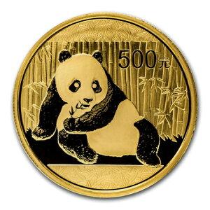 新品未使用 2015年製パンダ金貨1オンス 10枚セット