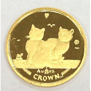 Isle of Man Cat Gold Coin 2003 1/25 oz 323