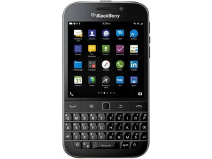 Blackberry Classic スマホ SIMフリー販売【BlackBerry 10.3 OS、キーボード搭載】